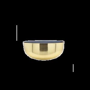bowl iron 2 tone with enamel S
